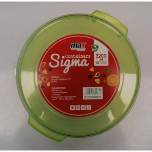 Max House Wares Sigma Containers - 3200ml - Green/White