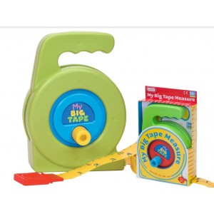 My Big Tape Measure for Kids Age 3+ - 22 x 14 x 8cm