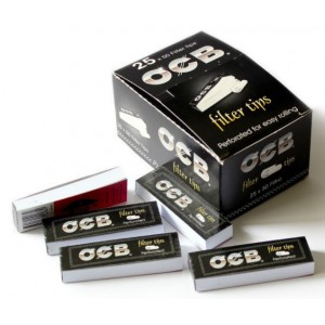 Ocb Perforated Cigarette Filter Tips - 25 X 50