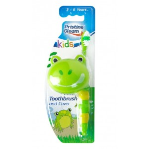 Pristine Gleam Kids Toothbrush with Cover