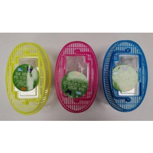 Pet Touch Oval Bug Viewer & Pet Transporter - Assorted Colours - 20 x 12cm