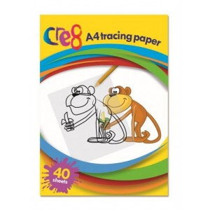 Cre8 A4 Tracing Paper - Pack Of 40 Sheets