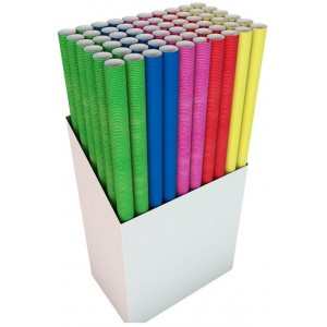 Unicolour Giftwrap - Colours May Vary - 70 x 300cm