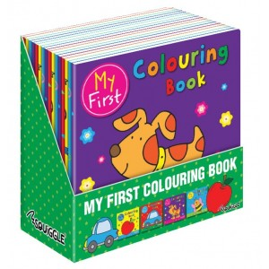 My First Colouring Books - Assorted Designs - 21 x 21cm