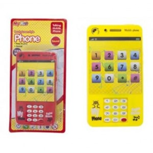 My First Touch Screen Style Talking Mobile Phone - Yellow