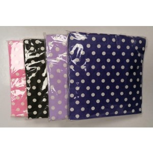 Polka Dots Paper Napkins/tissues - Colours May Vary - Pack Of 20