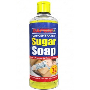 Rapide Concentrated Sugar Soap for Cleaning & Preparing Paint Surfaces - 800ml