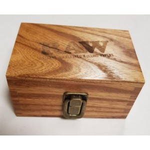Raw Rolling Smoking Tobacco Snuff Wooden Box Smokers Gift Set