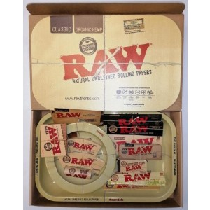 Official RAW Christmas Tray Gift Set - Boxed And Fully Loaded With Official RAW Merchandise