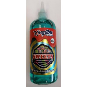 Kingston Premium E Liquid - Sweets - Refreshing Chews - 0Mg - 500Ml