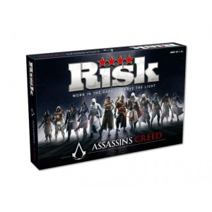 Hasbro Gaming Assassin's Creed Board Game - 2-5 Players - 40 x 27 x 7cm - For Kids Age 18+