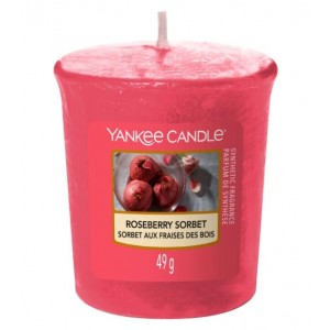 Yankee Candle - Samplers Votive Scented Candle - Roseberry Sorbet - 50g