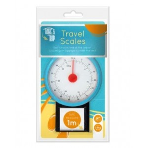 Take a Trip Travel Scale with 1m Tape Measure - Maximum Weight 34kg