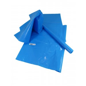 Large Waterproof Heavy Duty Mailing Bag For Wrapping - Blue - 60Cm X 45.5Cm