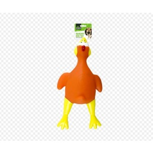 Kingdom Pet Care Essentials Squeaky Chicken Dog Toy - 27 x 13cm