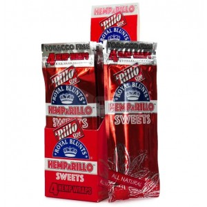 Hemp A Rillo Tobacco Free Royal Blunts - Pack of 15 - Sweets