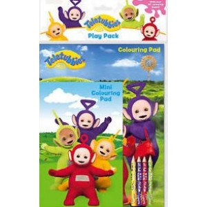 Teletubbies Colouring Pad With Over 30 Colouring Pages - 0% VAT