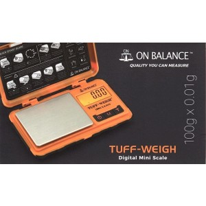 On Balance Tuff-Weigh Digital Mini Scale - 100Gm - 0.01Gm