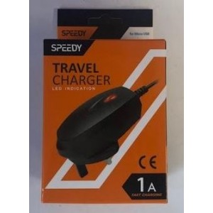 Quality Speedy 1Amp V8 Micro USB Home Charger