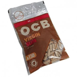 Ocb Unbleached Virgin Filter Ecopaper Filters - 10 X 150