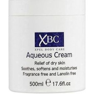 XBC XPEL BODY CARE AQUEOUS CREAM - SLS FREE - 500ml