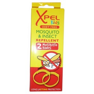 Xpel Deet Free Mosquito And Insect Repellent Bands For Kids - Pack Of 2