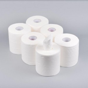 ProMax Multi Purpose Kitchen Towel Paper Roll Centre Feed Tissue - White - 50 Metres - 204 x 190mm - 2 Ply - Extra Strong/Absorbent