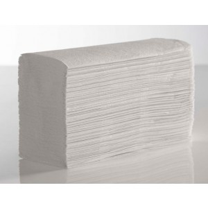 Sirius Z-Fold Hand Towels - Pure White Laminated - 2 Ply - Box of 3000