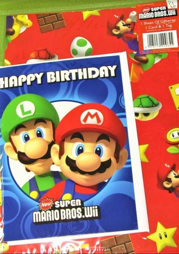 Wholesale Super Mario Bros Gift Wrapping Paper ebb9646fb923