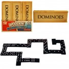 Dominoes In Compact Wooden Box