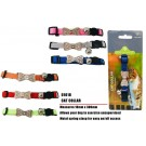 Bow Cat Collar - 1cm x 30cm Approx - Colours May Vary