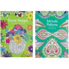 Intricate Patterns & Floral Designs - Anti-Stress Colouring Book - 24 Pages of Fun