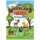 My Woodland Friends - All-in-1 Activity Book - 40 Pages of Fun