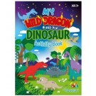 My Wild Dragon and Dinosaur - All-in-1 Activity Book - 40 Pages of Fun