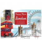 Famous Places - Amazing London - An Advanced Colouring Book - 22 Pages of Fun