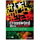 Cross Word Modern Mega Large Print Puzzles + Solutions - Book 01 & 02 - 44 Pages of Fun