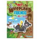 My Woodland Friends - A Colouring Activity Book - 22 Pages of Fun