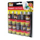 Pest Police Insect Fly Catchers - Pack Of 10