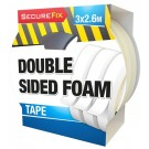 Double Sided Adhesive Foam Tape - 3 x 2.6 Metres