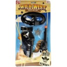 Red Deer Toys Wild West Cowboy Shoot Out Set - 39.5 x 21cm