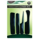 Tangle Taming Comb Set - Pack of 8