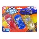 Pull Back & Go Sports Cars by Red Deer Toys