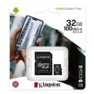 Kingston 32GB Micro SD Card/Memory Card with Adapter - Class 10 - SDCS2/32GB