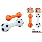 Pet Buddies Squeaky Doggy Play Toy - Shapes Vary