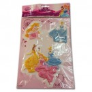 Disney Princess 3D Stickers - Assorted Designs - Pack Of 3