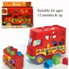 Push Along Toy Bus Shape Sorter