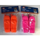 Squeaky Doggy Play Toy Phones - Assorted Colours - Pack Of 2