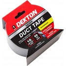 Dekton Extra Strong & Waterproof Duct Tape - Silver - 50mm x 10m