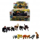 Toy Animals Of The World Wild Kingdom Series - Assorted Shapes, Sizes And Colours