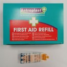 Astroplast+ Pull & Open Fabric Plasters First Aid Refill - 7.2 x 2.5cm - Clip of 10 - Box of 15